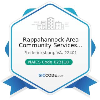 Rappahannock Area Community Services Board - NAICS Code 623110 - Nursing Care Facilities...
