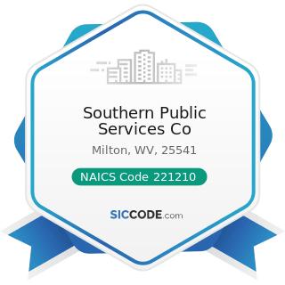 Southern Public Services Co - NAICS Code 221210 - Natural Gas Distribution