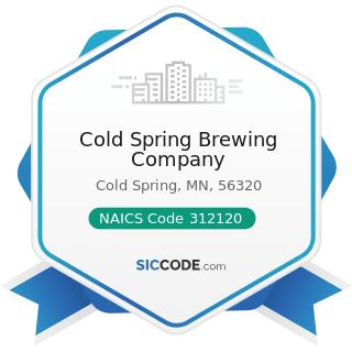 Cold Spring Brewing Company - NAICS Code 312120 - Breweries