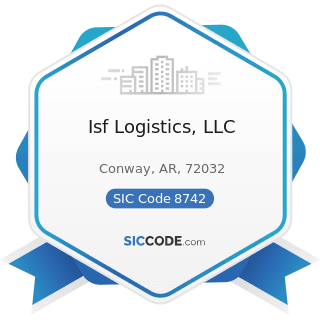 Isf Logistics, LLC - SIC Code 8742 - Management Consulting Services