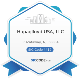 Hapaglloyd USA, LLC - SIC Code 4412 - Deep Sea Foreign Transportation of Freight