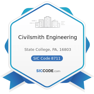 Civilsmith Engineering - SIC Code 8711 - Engineering Services