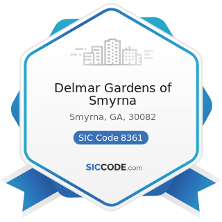 Delmar Gardens of Smyrna - SIC Code 8361 - Residential Care