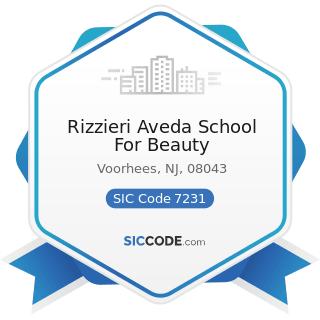 Rizzieri Aveda School For Beauty - SIC Code 7231 - Beauty Shops