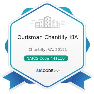 Ourisman Chantilly KIA - NAICS Code 441110 - New Car Dealers