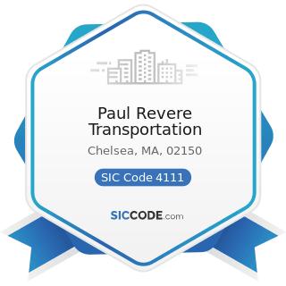 Paul Revere Transportation - SIC Code 4111 - Local and Suburban Transit
