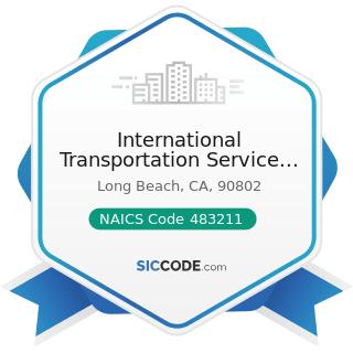 International Transportation Service Inc - NAICS Code 483211 - Inland Water Freight...