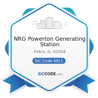 NRG Powerton Generating Station - SIC Code 4911 - Electric Services