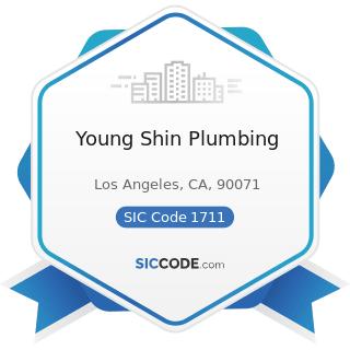 Young Shin Plumbing - SIC Code 1711 - Plumbing, Heating and Air-Conditioning