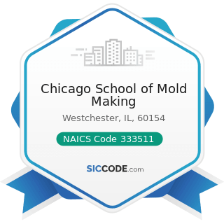 Chicago School of Mold Making - NAICS Code 333511 - Industrial Mold Manufacturing