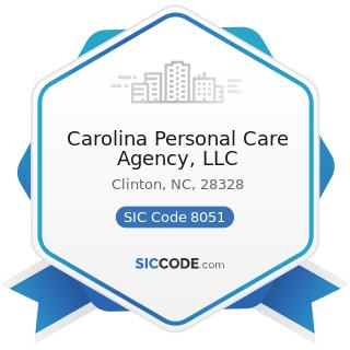 Carolina Personal Care Agency, LLC - SIC Code 8051 - Skilled Nursing Care Facilities