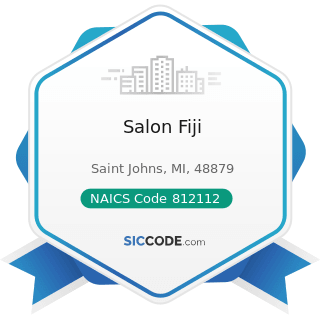 Salon Fiji - NAICS Code 812112 - Beauty Salons