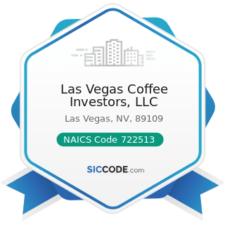 Las Vegas Coffee Investors, LLC - NAICS Code 722513 - Limited-Service Restaurants