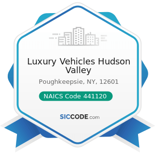 Luxury Vehicles Hudson Valley - NAICS Code 441120 - Used Car Dealers
