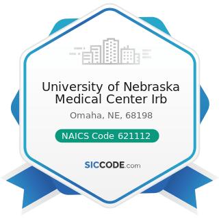 University of Nebraska Medical Center Irb - NAICS Code 621112 - Offices of Physicians, Mental...