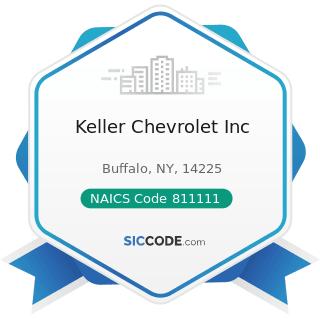 Keller Chevrolet Inc - NAICS Code 811111 - General Automotive Repair