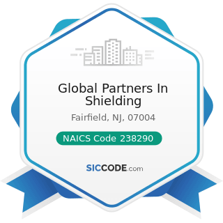 Global Partners In Shielding - NAICS Code 238290 - Other Building Equipment Contractors