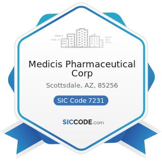 Medicis Pharmaceutical Corp - SIC Code 7231 - Beauty Shops