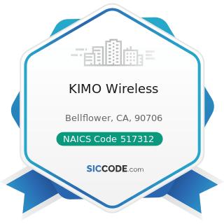 KIMO Wireless - NAICS Code 517312 - Wireless Telecommunications Carriers (except Satellite)
