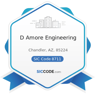 D Amore Engineering - SIC Code 8711 - Engineering Services