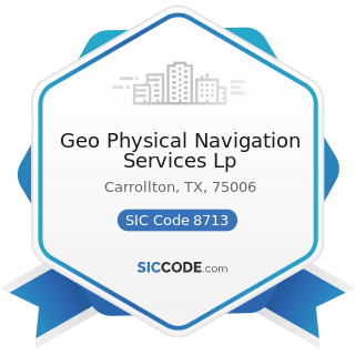 Geo Physical Navigation Services Lp - SIC Code 8713 - Surveying Services
