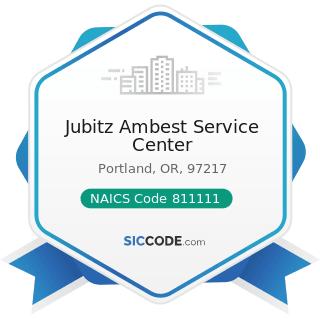 Jubitz Ambest Service Center - NAICS Code 811111 - General Automotive Repair