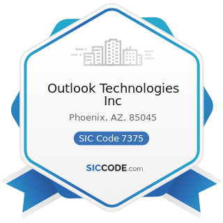 Outlook Technologies Inc - SIC Code 7375 - Information Retrieval Services