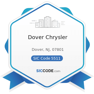 Dover Chrysler - SIC Code 5511 - Motor Vehicle Dealers (New and Used)