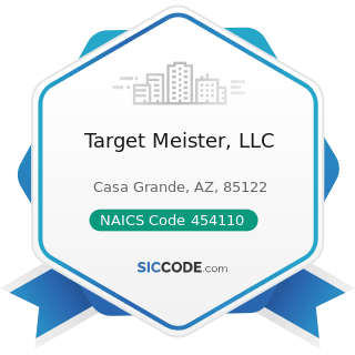 Target Meister, LLC - NAICS Code 454110 - Electronic Shopping and Mail-Order Houses