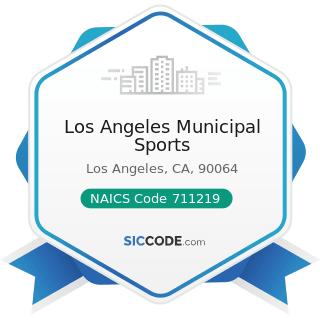 Los Angeles Municipal Sports - NAICS Code 711219 - Other Spectator Sports