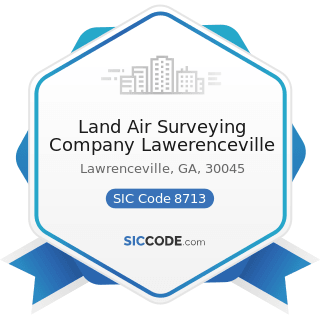 Land Air Surveying Company Lawerenceville - SIC Code 8713 - Surveying Services
