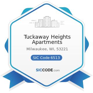 Tuckaway Heights Apartments - SIC Code 6513 - Operators of Apartment Buildings