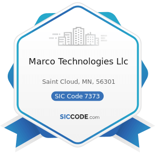 Marco Technologies Llc - SIC Code 7373 - Computer Integrated Systems Design