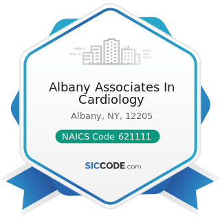 Albany Associates In Cardiology - NAICS Code 621111 - Offices of Physicians (except Mental...