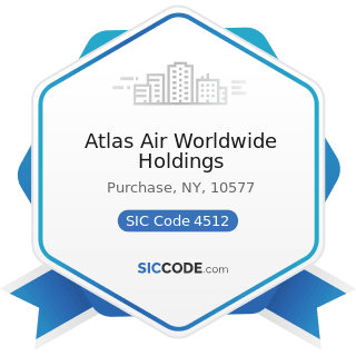 Atlas Air Worldwide Holdings - SIC Code 4512 - Air Transportation, Scheduled