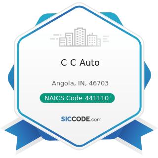 C C Auto - NAICS Code 441110 - New Car Dealers