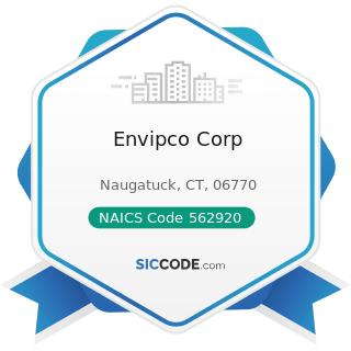Envipco Corp - NAICS Code 562920 - Materials Recovery Facilities