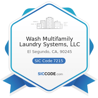 Wash Multifamily Laundry Systems, LLC - SIC Code 7215 - Coin-Operated Laundries and Drycleaning