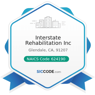 Interstate Rehabilitation Inc - NAICS Code 624190 - Other Individual and Family Services