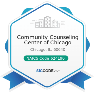 Community Counseling Center of Chicago - NAICS Code 624190 - Other Individual and Family Services