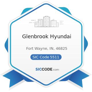 Glenbrook Hyundai - SIC Code 5511 - Motor Vehicle Dealers (New and Used)