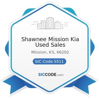 Shawnee Mission Kia Used Sales - SIC Code 5511 - Motor Vehicle Dealers (New and Used)