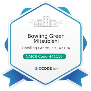 Bowling Green Mitsubishi - NAICS Code 441110 - New Car Dealers