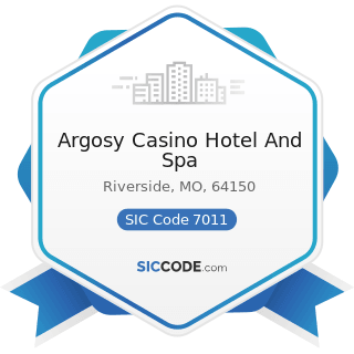Argosy Casino Hotel And Spa - SIC Code 7011 - Hotels and Motels