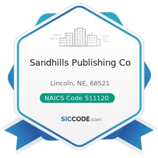 Sandhills Publishing Co - NAICS Code 511120 - Periodical Publishers