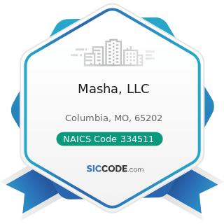 Masha, LLC - NAICS Code 334511 - Search, Detection, Navigation, Guidance, Aeronautical, and...