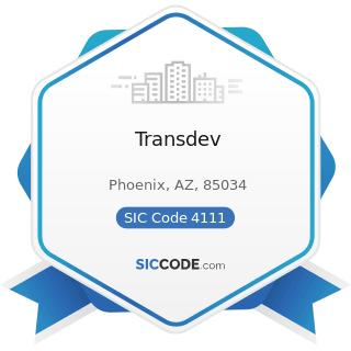 Transdev - SIC Code 4111 - Local and Suburban Transit