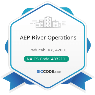 AEP River Operations - NAICS Code 483211 - Inland Water Freight Transportation