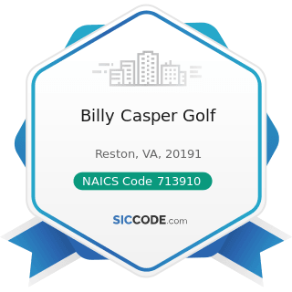 Billy Casper Golf - NAICS Code 713910 - Golf Courses and Country Clubs