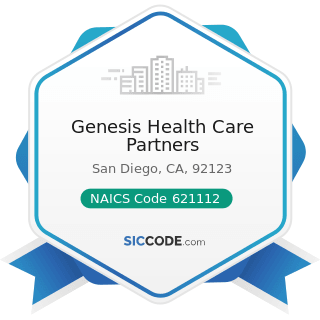 Genesis Health Care Partners - NAICS Code 621112 - Offices of Physicians, Mental Health...